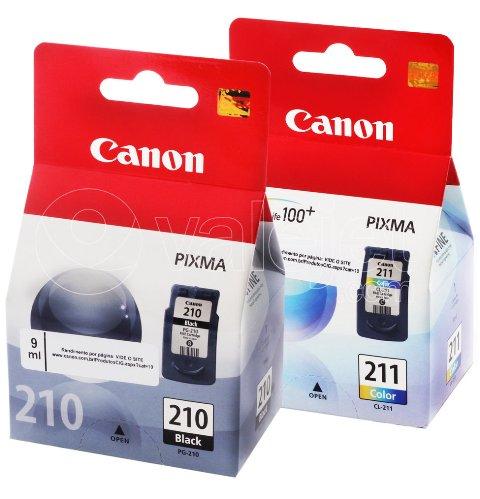 canon 210 e 211