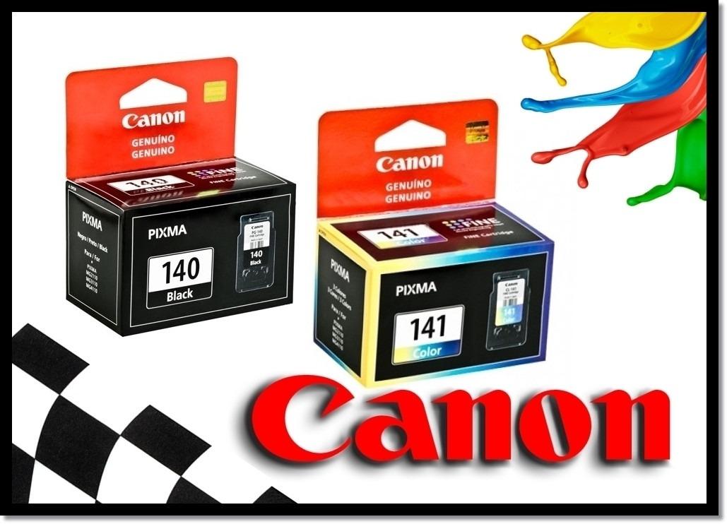 canon 140 e 141